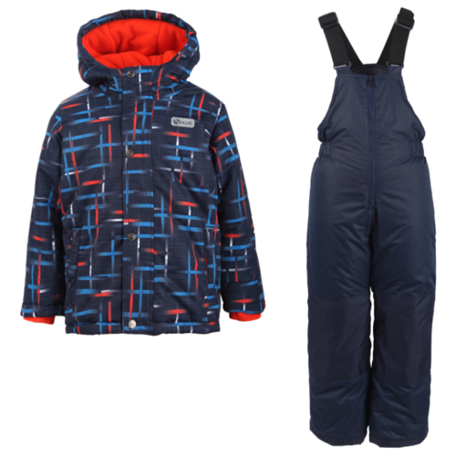 Купить Комплект с полукомбинезоном GUSTI Salve SWB 5859 размер 12/152, orange, Комплекты верхней одежды