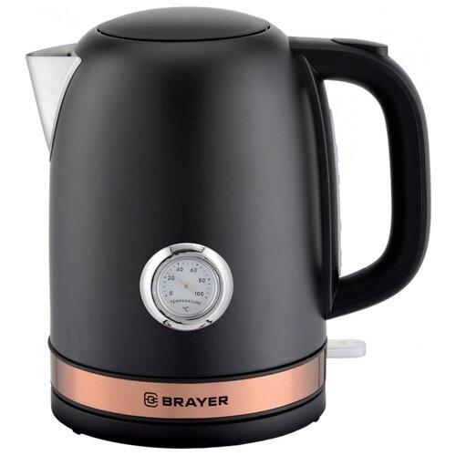 Фото - Чайник BRAYER BR1005, черный чайник brayer br1020