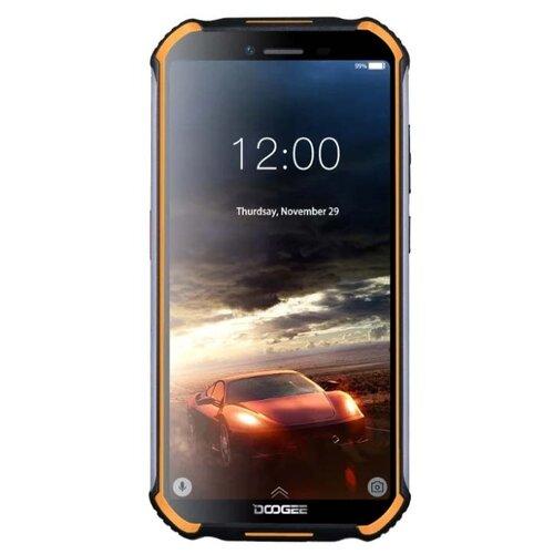 Смартфон DOOGEE S40 3/32GB оранжевый смартфон doogee s68 pro черный оранжевый