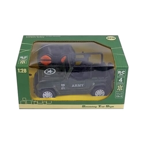 Машинка Junfa toys Army (1547959) зеленый