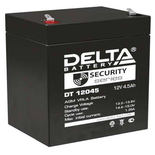 Фото - Аккумуляторная батарея DELTA Battery DT 12045 4.5 А·ч аккумуляторная батарея delta battery gel 12 33 33 а·ч