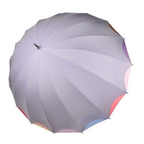 Фото - Зонт-трость полуавтомат Три слона 1100 серый зонт трость полуавтомат три слона 1100 бордовый
