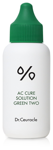 Dr.Ceuracle сыворотка AC Cure Solution Green Two