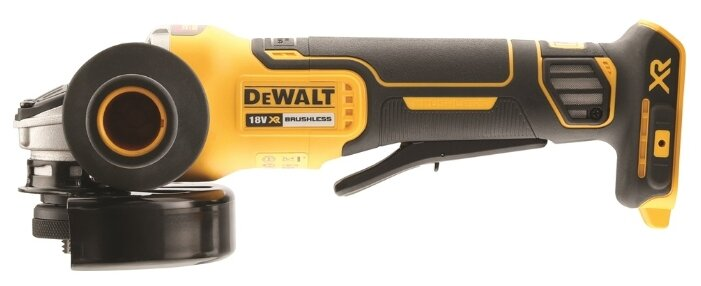 УШМ аккумуляторная DeWALT DCG406N, 18 В, 125 мм