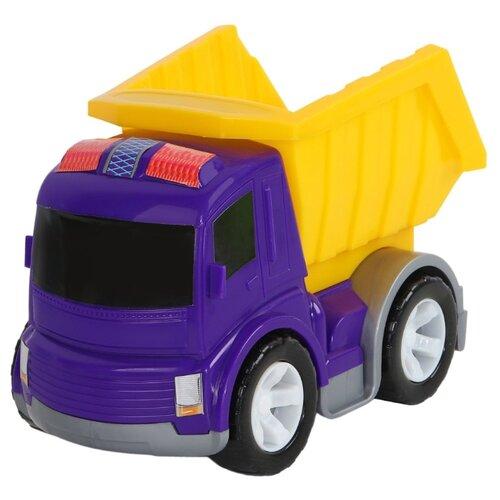 Купить Грузовик Джамбо Тойз JB5300098 20 см синий/желтый, Машинки и техника