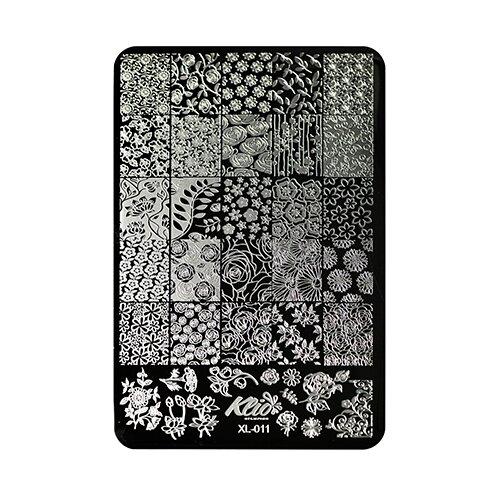 Купить Трафарет KLIO Professional №011 11 х 15 см black