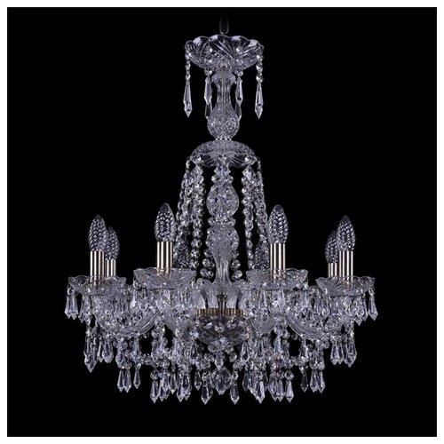 Фото - Люстра Bohemia Ivele Crystal 1403 1403/8/195/XL-65/Pa, E14, 320 Вт 80700