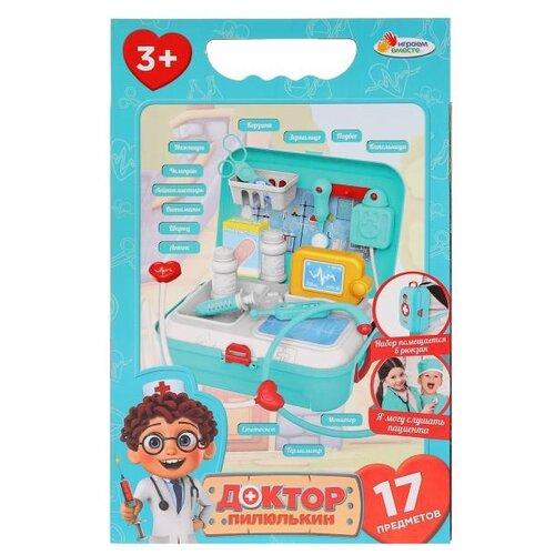 Купить Набор доктора Играем вместе Доктор Пилюлькин (B1750884), Играем в доктора