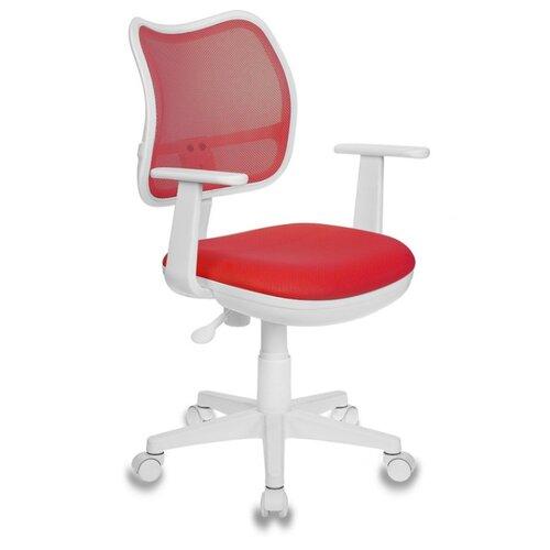 Компьютерное кресло Бюрократ CH-797, обивка: текстиль, цвет: TW-97N красный кресло buro ch 599 r tw 97n спинка сетка красный tw 35n сиденье красный tw 97n