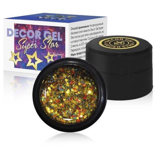 Купить Краска гелевая Rio Profi Decor Gel Super Star 5 Party