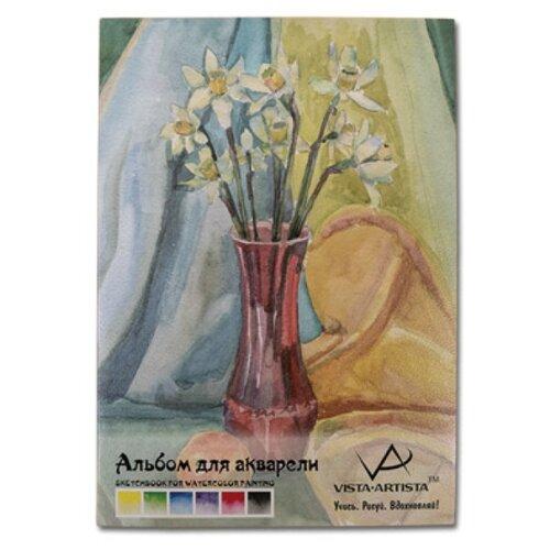 Купить Альбом для акварели Vista-Artista 42 х 29.7 см (A3), 230 г/м², 12 л., Альбомы для рисования