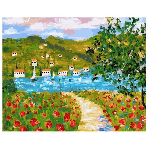 Фото - ВанГогВоМне Картина по номерам Пейзаж. Прованс, 40х50 см (ZX 21216) картина по номерам 30 x 40 см krym fn11