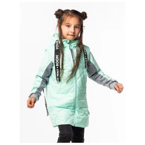 Куртка BOOM! by Orby 100006 размер 122, мятный куртка orby