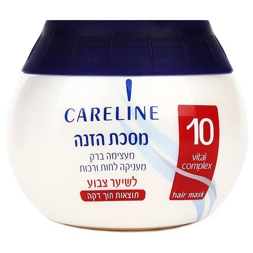 Купить Careline Маска питательная для окрашенных и поврежденных волос, 400 мл