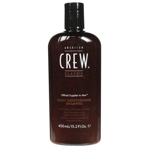 Фото - American Crew шампунь Daily Moisturizing для ежедневного ухода за нормальными и сухими волосами 450 мл american crew шампунь для ежедневного ухода за волосами 450 мл american crew для тела и волос