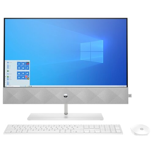 Моноблок HP Pavilion 27-d0019ur 1G1D9EA Intel Core i7-10700T/16 ГБ/SSD/Intel UHD Graphics 630/27/1920x1080/Windows 10 Home 64 моноблок hp eliteone 800 g5 intel core i7 9700 3000 mhz 23 8 1920x1080 8gb 512gb ssd dvd rw intel uhd graphics 630 wi fi bluetooth windows 10 pro