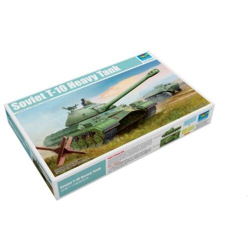 Сборная модель Trumpeter Soviet T-10 Heavy Tank (05545) 1:35 realts trumpeter 01024 1 35 ex soviet 2p19 launcher w r 17 missile ss 1c scud b of 8k14 missile system