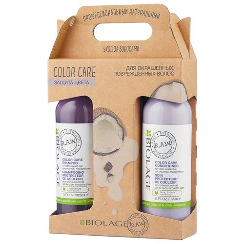 Набор Biolage R.A.W. Color care защита цвета набор biolage r a w color care для защиты цвета волос matrix biolage r a w
