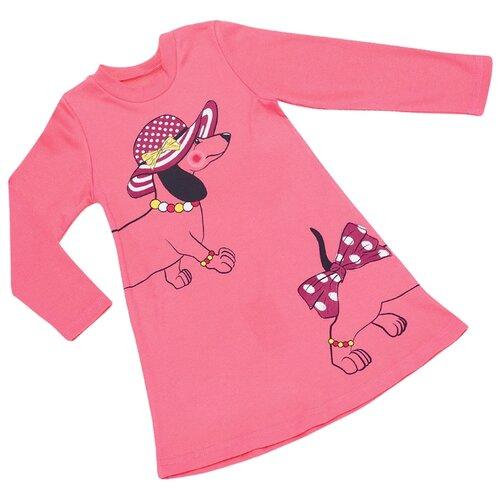 Платье ALENA размер 110-116, розовый