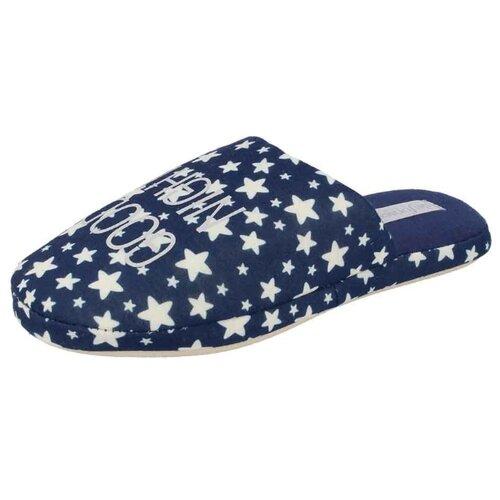 Тапочки ROMA TOP W400 De Fonseca синий 38/39 (De Fonseca)Домашняя обувь<br>