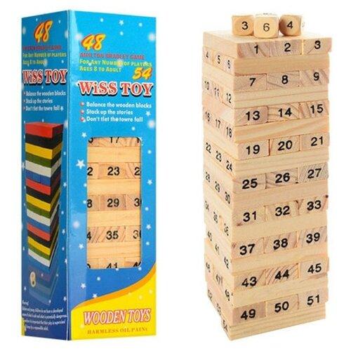 Настольная игра Shantou Gepai Падающая башня