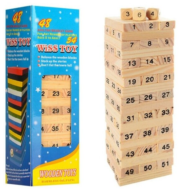 Настольная игра Shantou Gepai спортивная Башня дерево