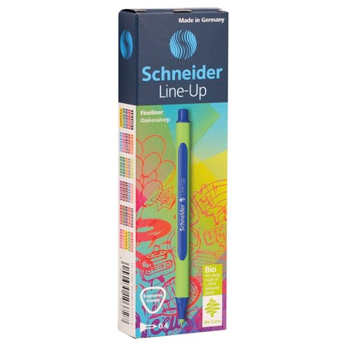Купить Schneider Набор капиллярных ручек Line-Up 0.4 мм, 10 шт., синий цвет чернил, Ручки