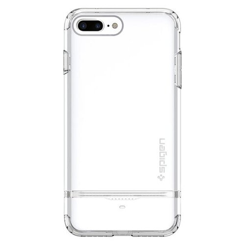 Фото - Чехол-накладка Spigen Flip Armor для Apple iPhone 7 Plus/iPhone 8 Plus white чехол spigen thin fit white apple watch 4 44mm