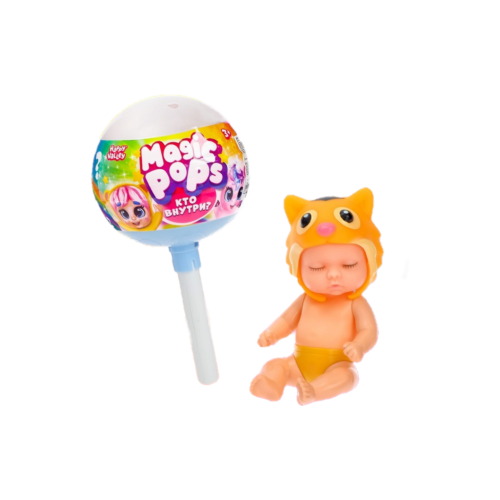 Купить Игрушка-сюрприз на палочке Magic pops пупс с аксессуарами, 4350571, Happy Valley, Куклы и пупсы