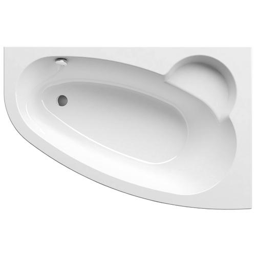 Ванна RAVAK Asymmetric 160x105 без гидромассажа акрил угловая правосторонняя ванна отдельностоящая ravak rosa 95 150x95 без гидромассажа акрил угловая правосторонняя