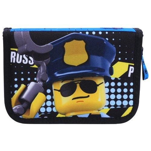 LEGO Пенал City Police Cop (20085-2003) синий/черный