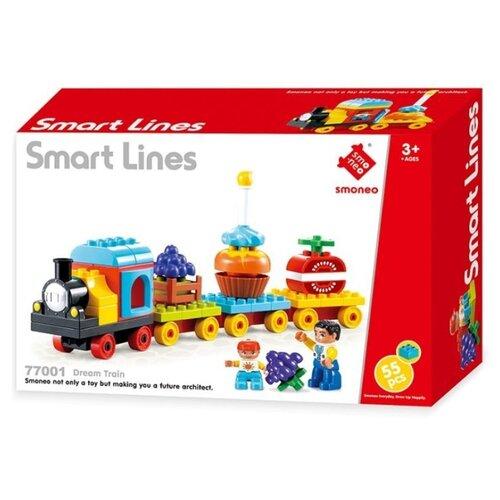 Купить Конструктор Smoneo Smart Lines 77001 Поезд мечты, Конструкторы
