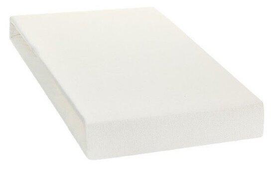 """Купить Простыня на резинке """"ЭГО"""", 180х200 см, белая по низкой цене с доставкой из Яндекс.Маркета (бывший Беру)"""