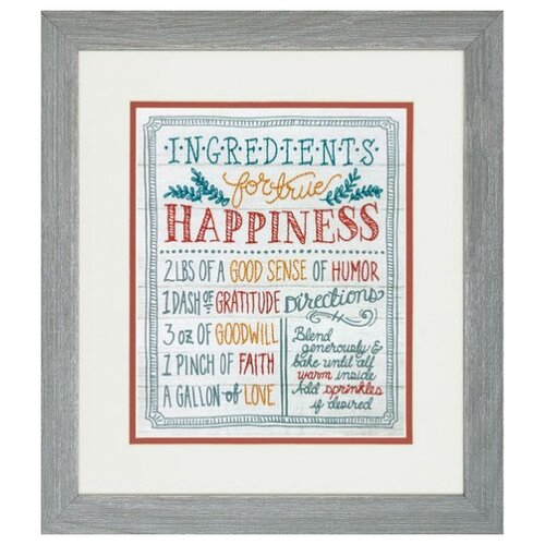 Фото - Набор для вышивания DIMENSIONS 71-01569 Ингредиенты для счастья25 x 20 см набор для вышивания dimensions 03896 уютное укрытие46 x 23 см