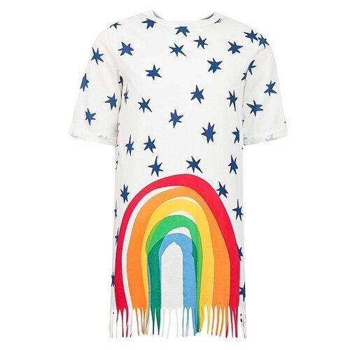 Платье Stella McCartney размер 92, кремовый/разноцветный