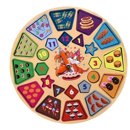 Купить Сортер PAREMO Игровой набор Часики Сладости PE720-154, Сортеры