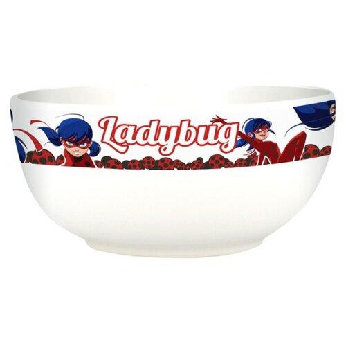 Фото - Stor Миска Леди Баг 13.5 см (47066) белый stor тарелка леди баг 23 см красный