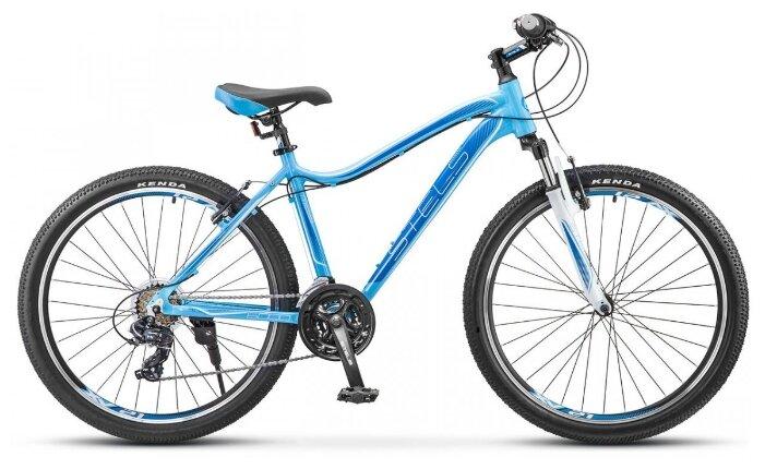 """Горный велосипед Stels Miss 6000 V K010 (2020) голубой 17"""""""