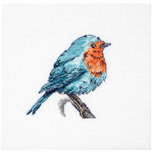 Купить Luca-S Набор для вышивания Синяя птица, 8.5 х 8 см, B1167, Наборы для вышивания