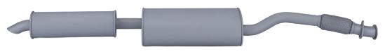 Глушитель с резонатором УАЗ 236000120100820 для УАЗ Профи