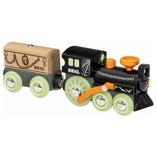 Купить Brio Поездной состав Поезд-призрак , 33986, Наборы, локомотивы, вагоны