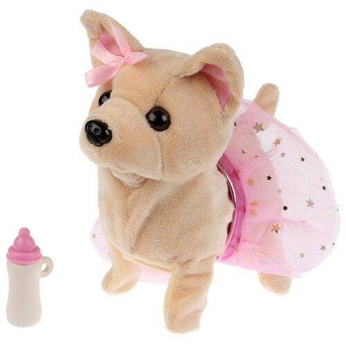 Купить Мягкая игрушка Мой питомец Аврора бежевый/розовый, Роботы и трансформеры