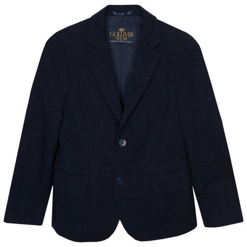 Пиджак Gulliver размер 128, синий пиджак gulliver размер 128 синий
