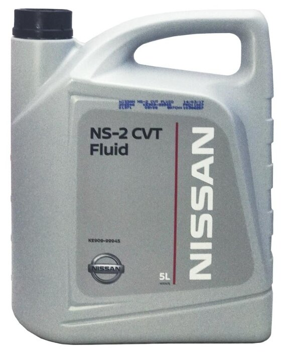 Масло трансмиссионное Nissan CVT NS-2 4л (Япония) KLE52-00004