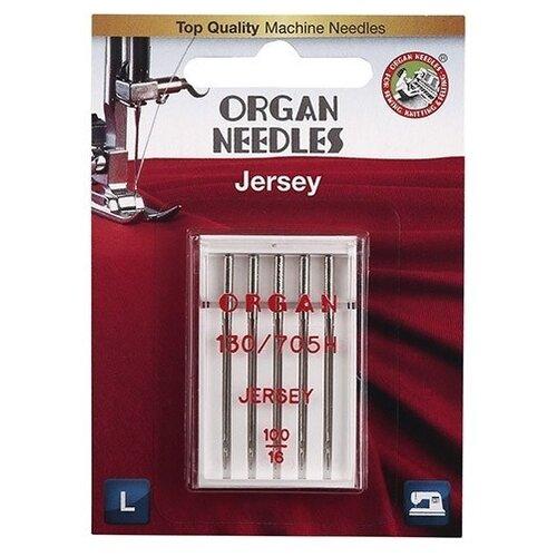 Игла/иглы Organ Jersey 100 серебристый