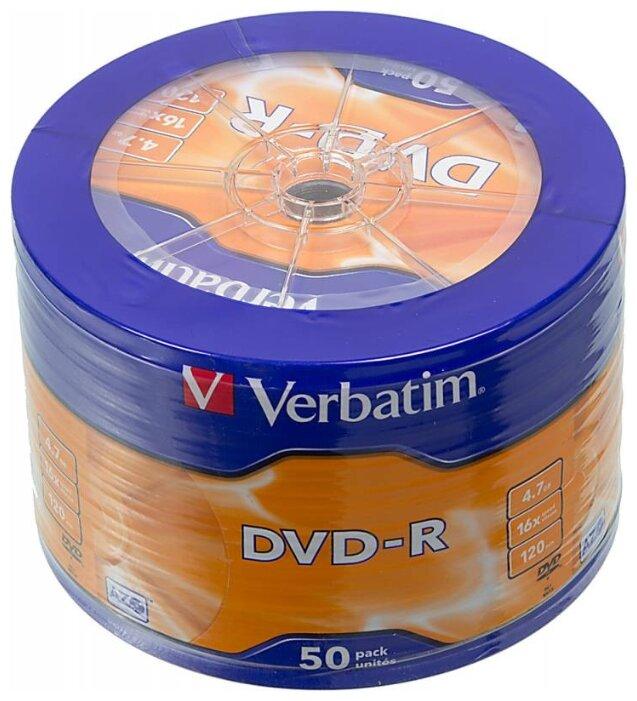 Диск DVD-R Verbatim 4.7Gb 16x AZO