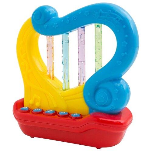 Развивающая игрушка Zhorya Арфа (ZY662617) желтый/голубой/красный