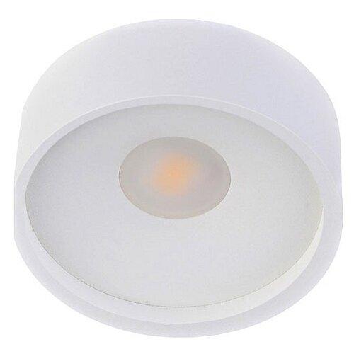 Светильник светодиодный Donolux DL18440/01 White R Dim, LED, 10 Вт встраиваемый светильник donolux ritm dl18891 24w white r dim