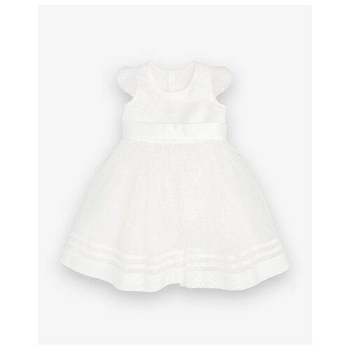 Платье Gulliver Baby размер 92, белый платье oodji ultra цвет красный белый 14001071 13 46148 4512s размер xs 42 170