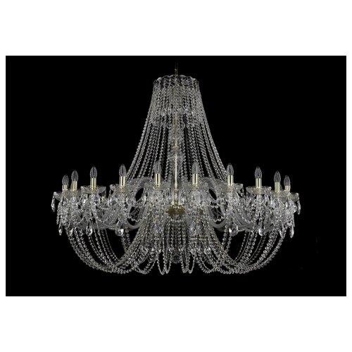 Люстра Bohemia Ivele Crystal 1406 1406/24/530/G, E14, 960 Вт bohemia ivele crystal 1406 24 12 12 6 530 230 4d g
